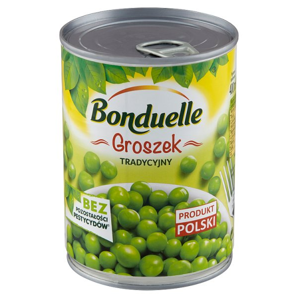 Bonduelle Groszek konserwowy tradycyjny 400 g
