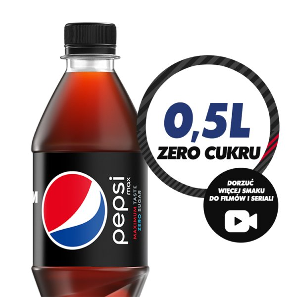 Pepsi Max Napój gazowany 500 ml