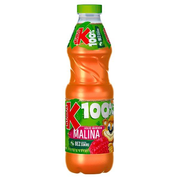 Kubuś 100% Sok jabłko marchew malina 850 ml