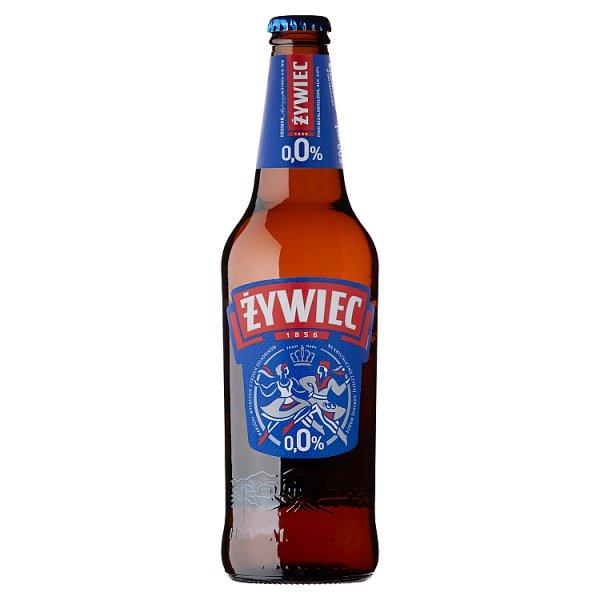 Żywiec Piwo jasne bezalkoholowe 500 ml