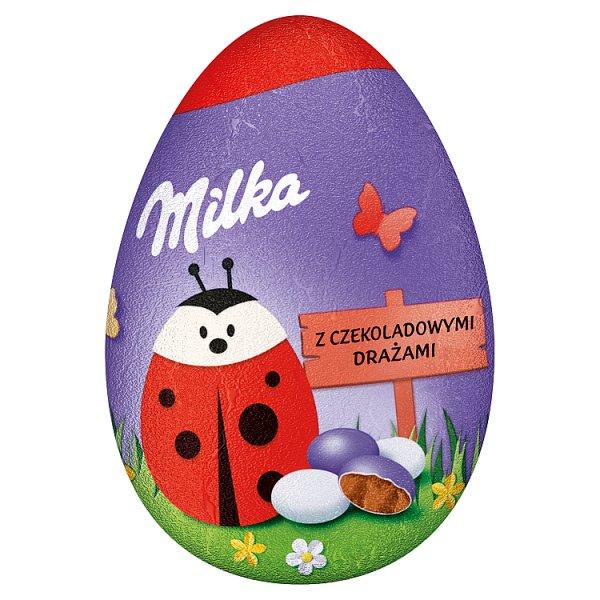 Milka Czekoladowe jajko z drażami czekoladowymi 50 g