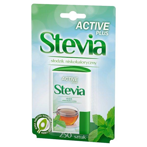 Active Plus Stevia Słodzik niskokaloryczny 13 g (250 sztuk)