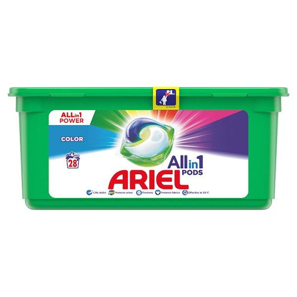 Ariel Allin1 PODS Colour Kapsułki do prania, 28prań