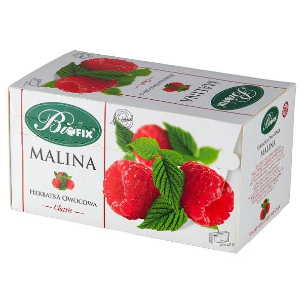 Bifix Classic Herbatka owocowa malina 50 g (20 x 2,5 g)