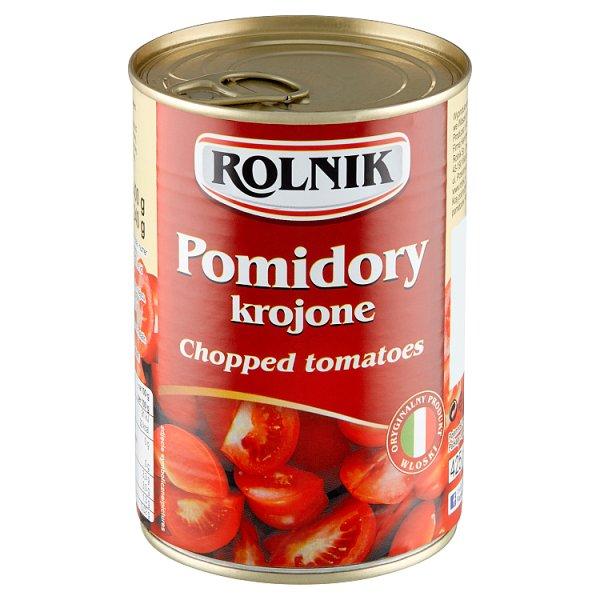 Rolnik Pomidory krojone 400 g