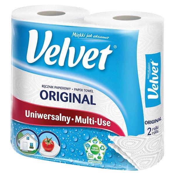 Velvet Original Ręcznik papierowy 2 rolki