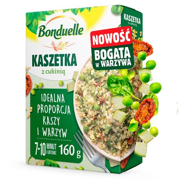 Bonduelle Kaszetka z cukinią 160 g (2 torebki)