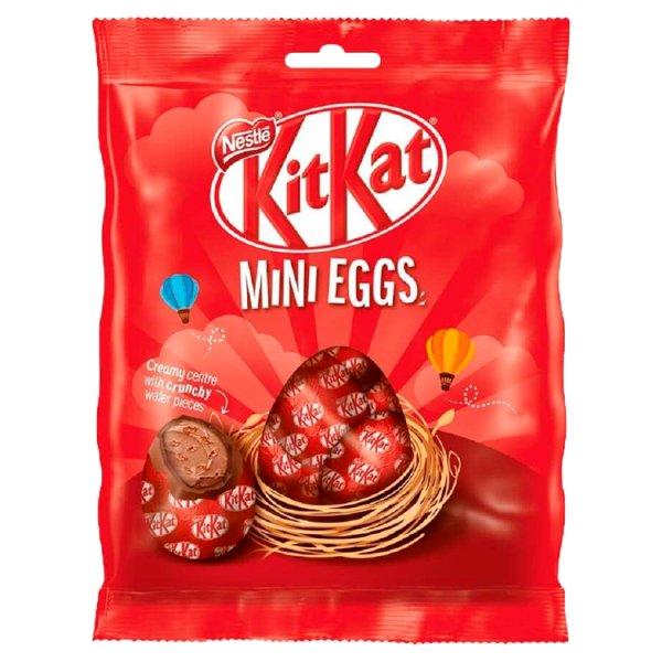 KitKat Mini Eggs Jajka z mlecznej czekolady 90 g