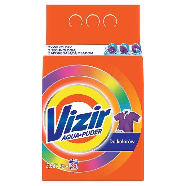 Vizir AquaPuder Color Proszek do prania 2.625KG, 35 prań