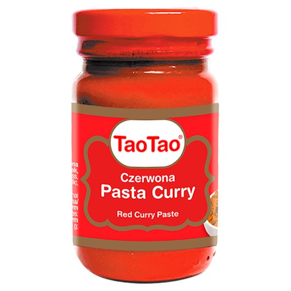 Tao Tao Czerwona pasta curry 115 g