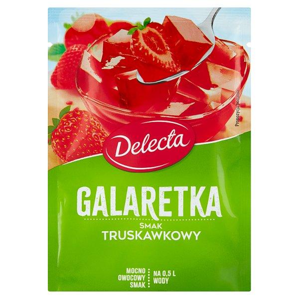 Delecta Galaretka smak truskawkowy 70 g
