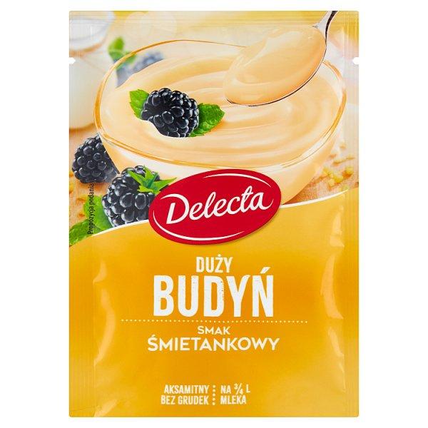 Delecta Duży budyń smak śmietankowy 64 g