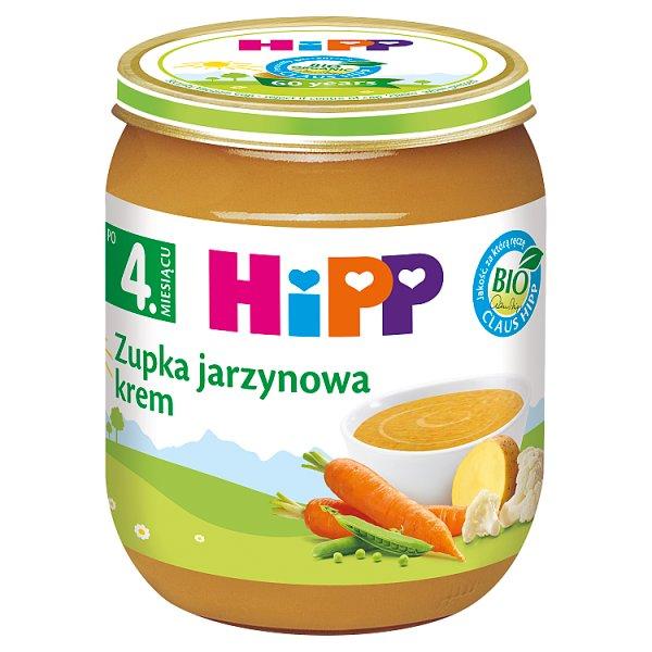 HiPP BIO Zupka jarzynowa krem po 4. miesiącu 125 g