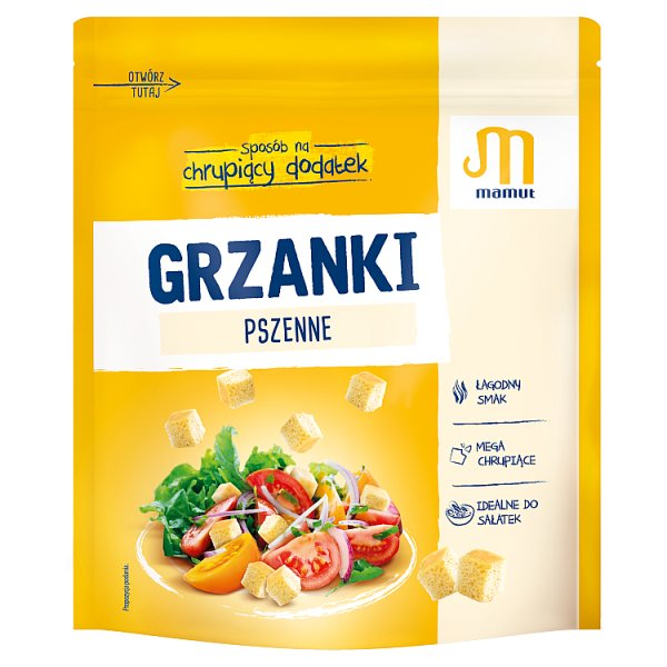 Mamut Grzanki pszenne 150 g