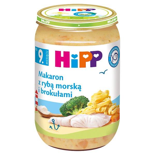 HiPP Makaron z rybą morską i brokułami po 9. miesiącu 220 g