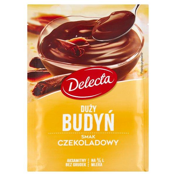 Delecta Duży budyń smak czekoladowy 64 g