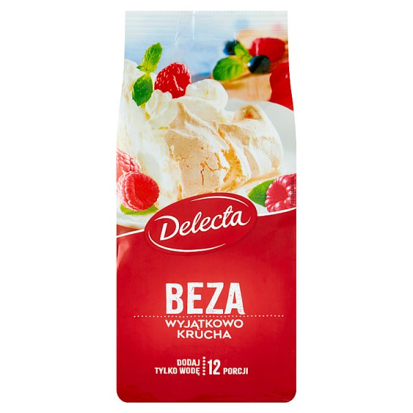 Delecta Beza wyjątkowo krucha mieszanka do wypieku ciasta 260 g