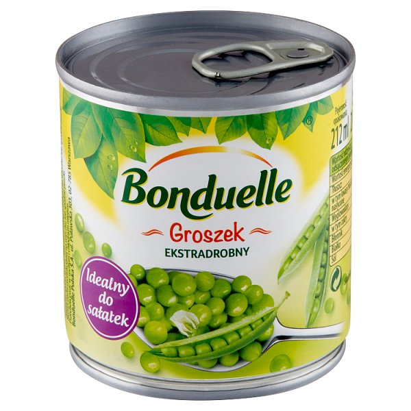 Bonduelle Groszek ekstradrobny 200 g