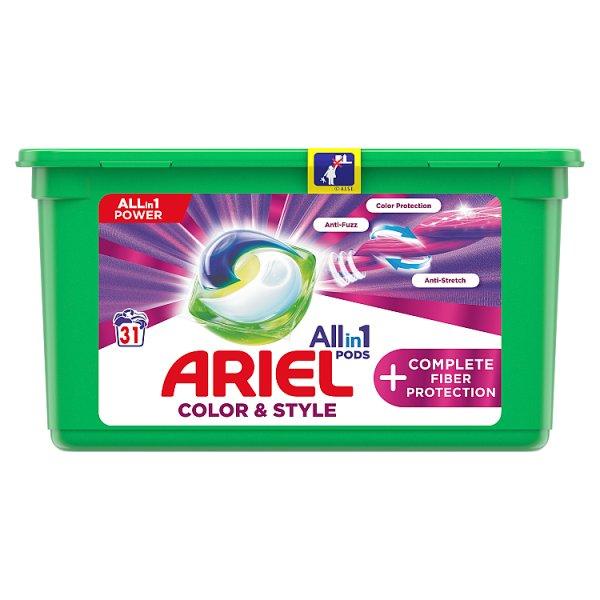 Ariel Allin1 Pods +Complete Fiber Protection Kapsułki do prania, 31prań