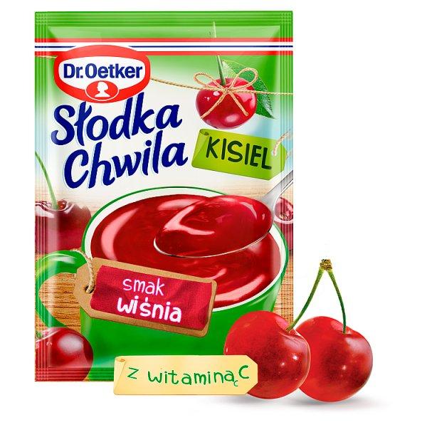 Dr. Oetker Słodka Chwila Kisiel smak wiśnia 30 g