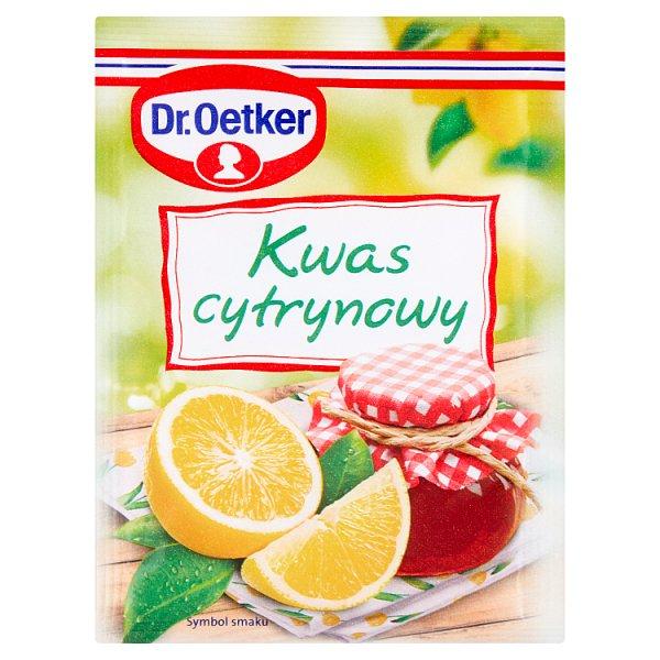 Dr. Oetker Kwas cytrynowy 20 g