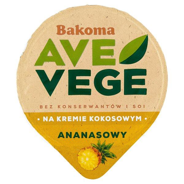 Bakoma Ave Vege Deser na kremie kokosowym ananasowy 150 g