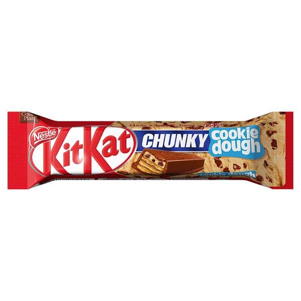 KitKat Chunky Paluszek waflowy z nadzieniem o smaku ciasteczkowym w mlecznej czekoladzie 42 g