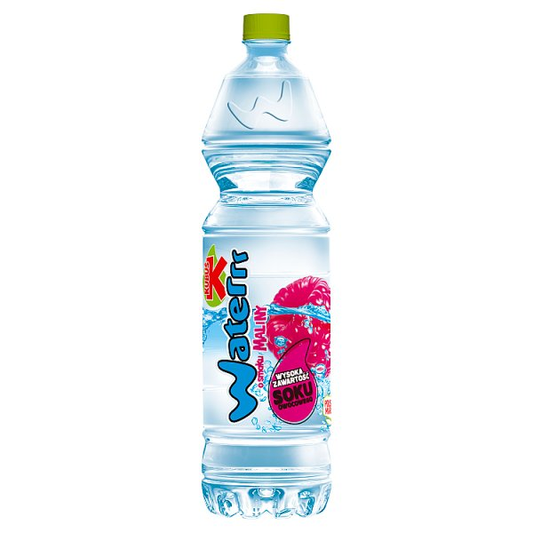 Kubuś Waterrr Napój o smaku maliny 1,5 l