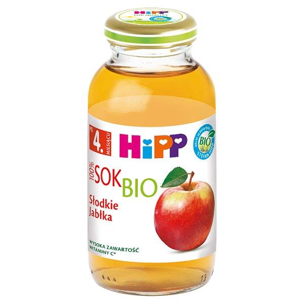 HiPP BIO Sok 100% słodkie jabłka po 4. miesiącu 0,2 l