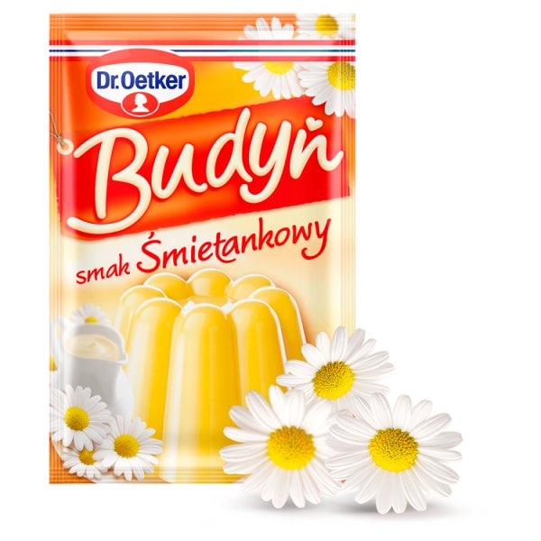 Dr. Oetker Budyń smak śmietankowy 40 g