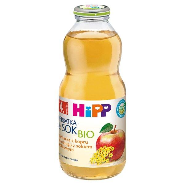HiPP BIO Herbatka z kopru włoskiego z sokiem jabłkowym po 4. miesiącu 0,5 l