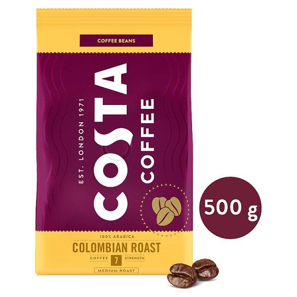 Costa Coffee Colombian Roast Medium Roast Kawa palona ziarnista 500 g