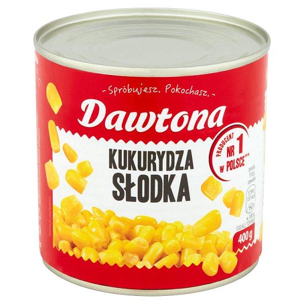 Dawtona Kukurydza słodka 400 g