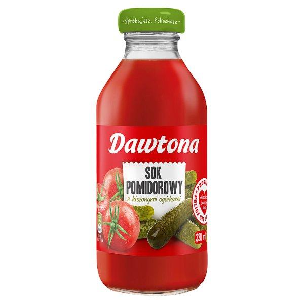 Dawtona Sok pomidorowy z kiszonymi ogórkami 330 ml