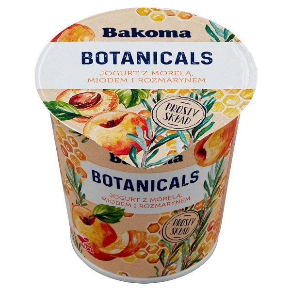 Bakoma Botanicals Jogurt z morelą miodem i rozmarynem 140 g