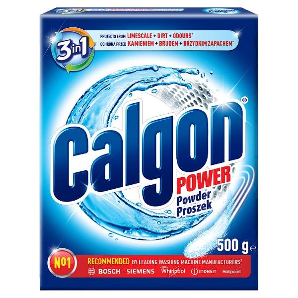 Calgon 3w1 Proszek do pralek przeciw osadzaniu się kamienia 500 g (20 prań)