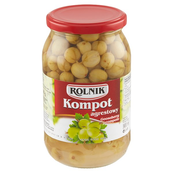 Rolnik Kompot agrestowy 900 g