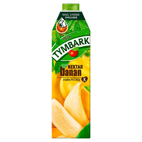 Tymbark Nektar banan 1 l