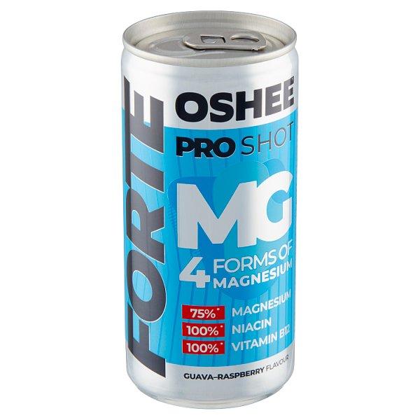 Oshee Pro Shot Forte Suplement diety napój niegazowany o smaku guawy i maliny 200 ml