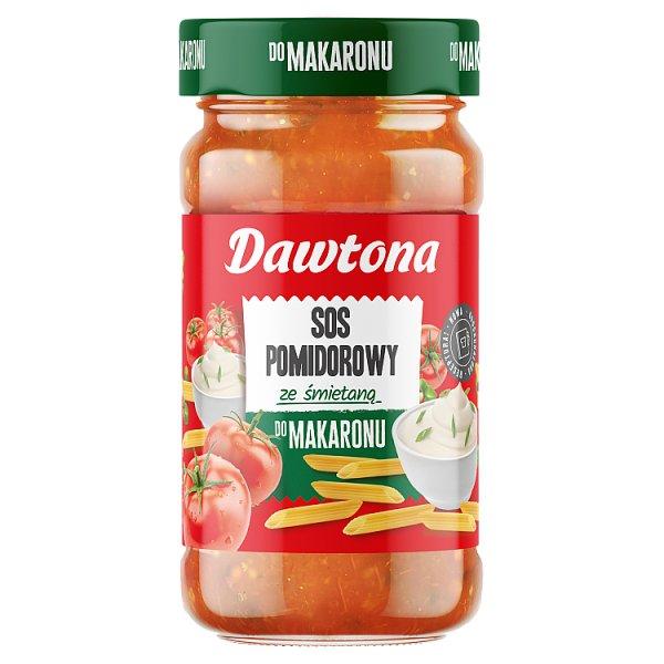 Dawtona Sos pomidorowy ze śmietaną do makaronu 550 g