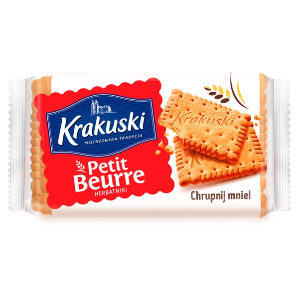 Krakuski Petit Beurre Herbatniki 50 g