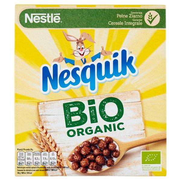 Nestlé Nesquik Bio Organic Płatki śniadaniowe 225 g