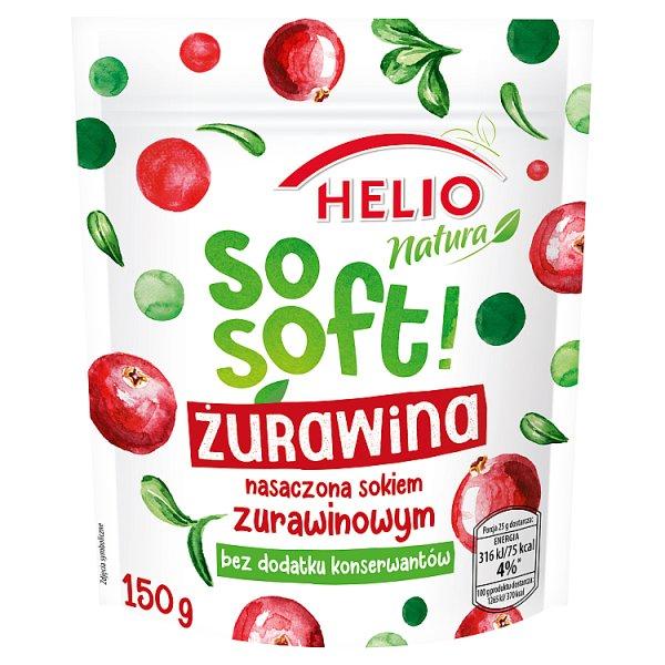 Helio Natura So Soft! Żurawina 150 g