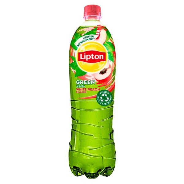 Lipton Ice Tea Green White Peach Napój niegazowany 1,5 l