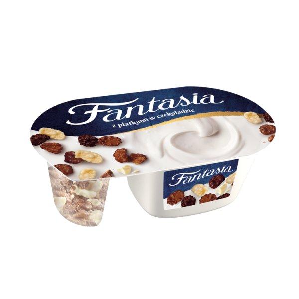 Fantasia Jogurt kremowy z płatkami w czekoladzie 106 g