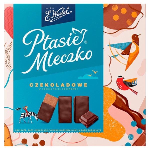 E. Wedel Ptasie Mleczko czekoladowe 360 g