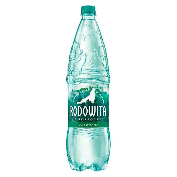 Rodowita z Roztocza Naturalna woda mineralna gazowana 1,5 l