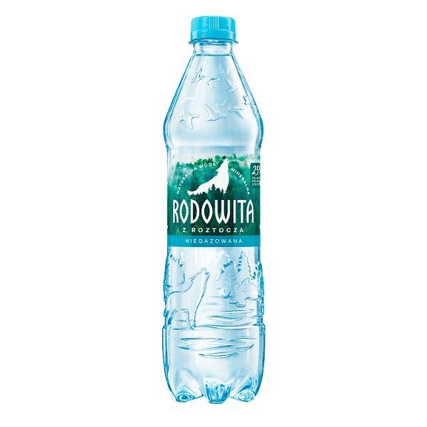 Rodowita z Roztocza Naturalna woda mineralna niegazowana 0,6 l