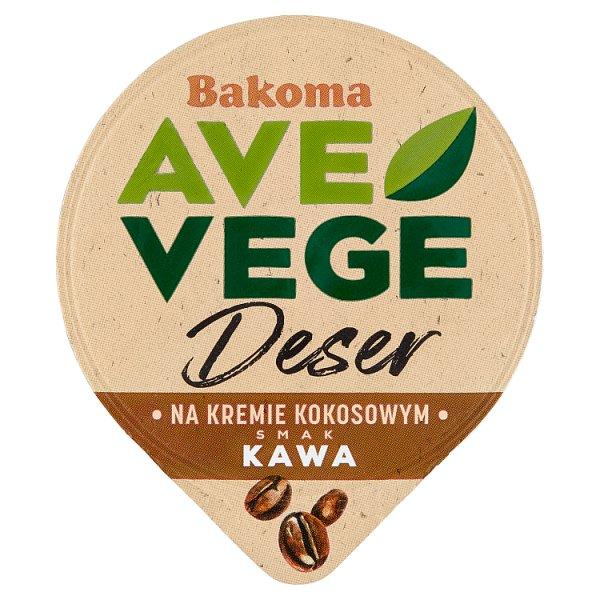 Bakoma Ave Vege Deser na kremie kokosowym smak kawa 150 g