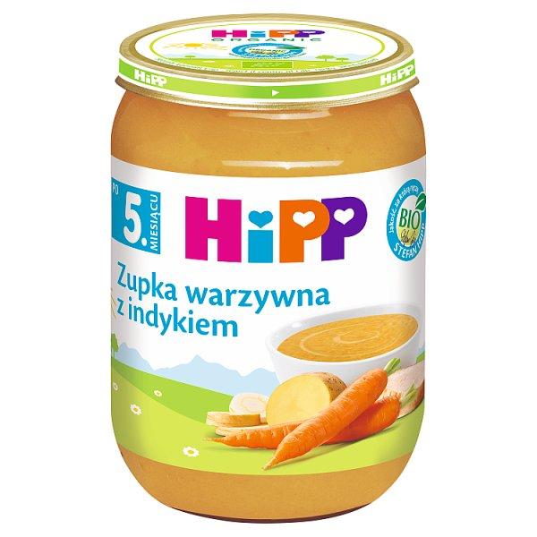 HiPP BIO Zupka warzywna z indykiem po 5. miesiącu 190 g